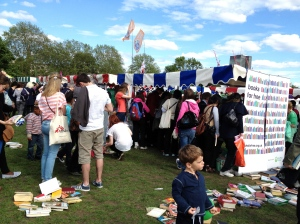London Green Fair - Books for Free Booth