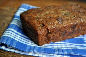 Courgette bread