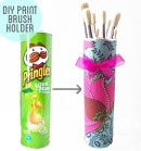 Upcycled Pringles can